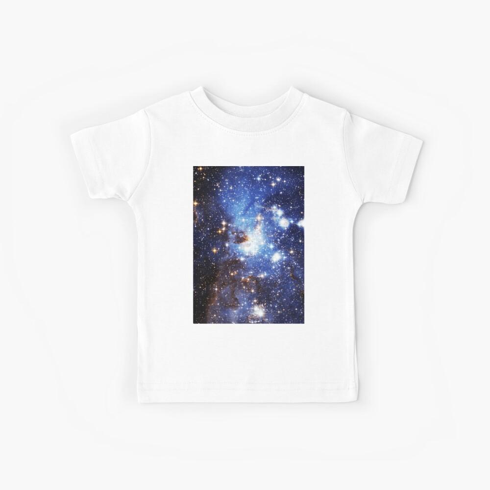 Blaue Galaxie 3.0 Kinder T-Shirt