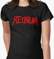 REDRUM - The Shining Womens Fitted T-Shirt