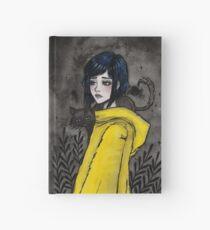 Gelber Regenmantel Notizbuch