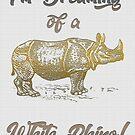 XMas Card- I'm Dreaming Of A White Rhino by JungleCrews