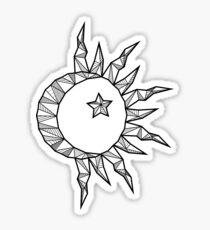 Moon of My Life - White Sticker