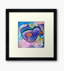 Nursery Bird Framed Print