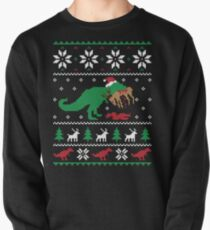 Dinosaur Ugly Christmas Sweater - Funny Christmas Gift Pullover