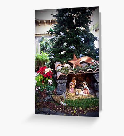 Christmas in Catania, Sicily, Italy Greeting Card