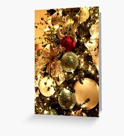 Christmas Decorations on the Tree Greeting Card