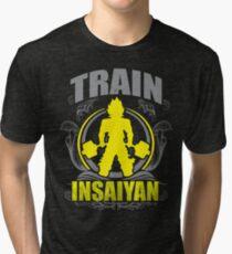 Train Insane - Deadlift Tri-blend T-Shirt
