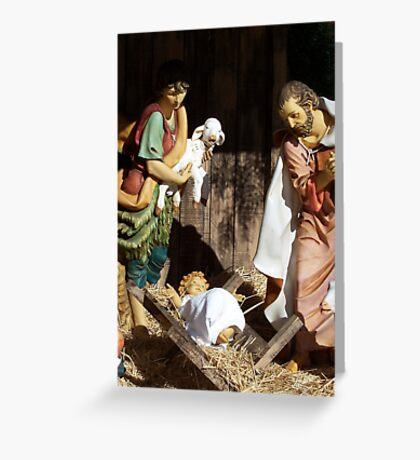 A Nativity 2 Greeting Card