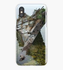 Tobermory shipwreck iPhone Case/Skin
