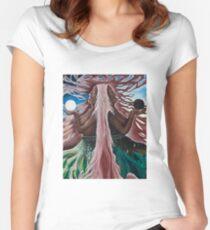 Passage/ Doorway Women's Fitted Scoop T-Shirt