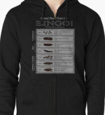 Bristol Stool Chart BINGO! Zipped Hoodie