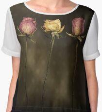 3 Roses Chiffon Top