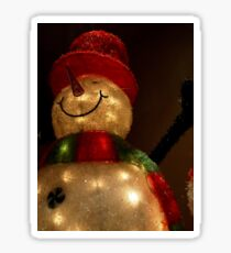 The Snowman Sticker