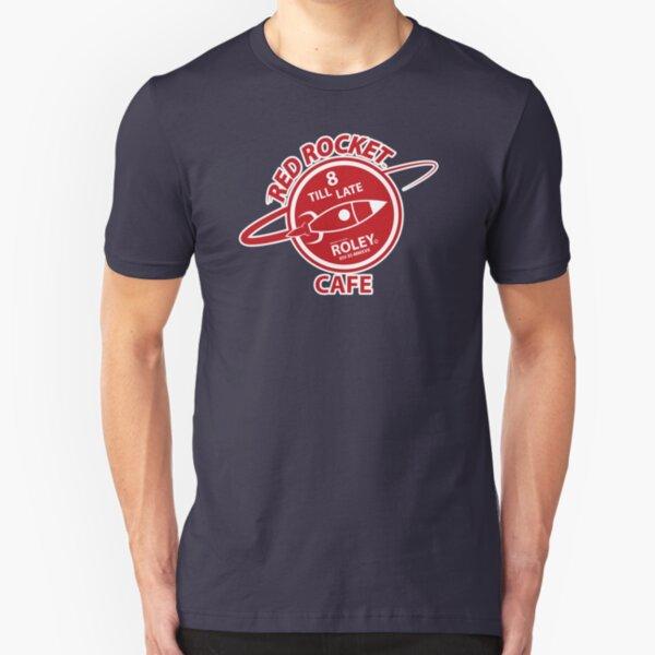 Red Rocket Cafe Slim Fit T-Shirt