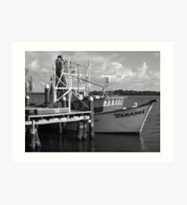 Trawler Art Print