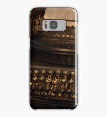 Typed nostalgia Samsung Galaxy Case/Skin