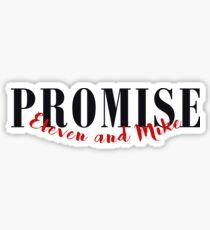 PROMISE / MILEVEN Sticker