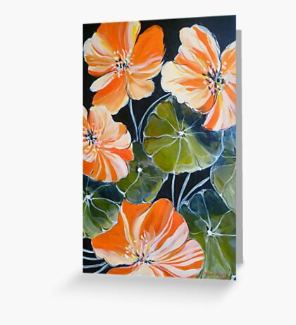 Nasturtiums 2 Greeting Card