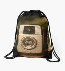 A Starlet Christmas Drawstring Bag
