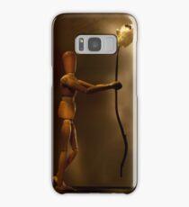 Wooden love Samsung Galaxy Case/Skin