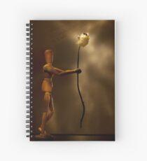 Wooden love Spiral Notebook