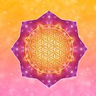 Flower of Life - Connected with the stars von Gaby Shayana Hoffmann
