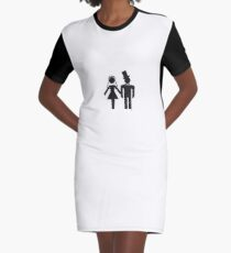 The Wedding Graphic T-Shirt Dress