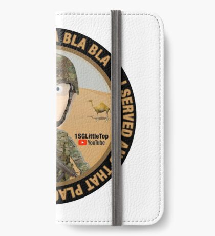 I served and you can have it! iPhone Wallet