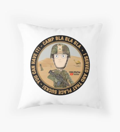 I served and you can have it! Floor Pillow