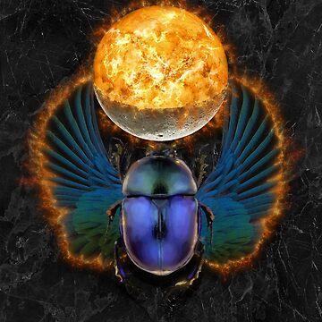 Egyptian Beetle Messenger of Ra by 3vaN