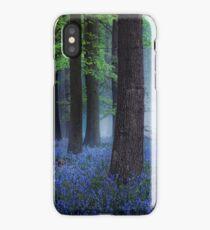 Misty Blue iPhone Case