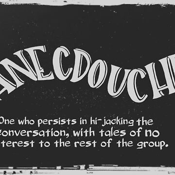 Anecdouche by TheLadySketch