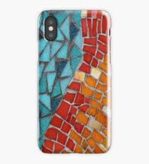 Red or Aqua - JUSTART © iPhone Case/Skin