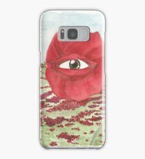 In a field of blind poppies, one eye is king Samsung Galaxy Case/Skin