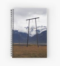 Power Lines Spiral Notebook