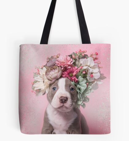 Flower Power, Frito Tote Bag