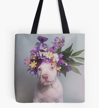 Flower Power, Matey Tote Bag
