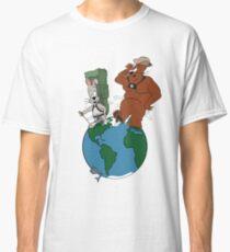 Bear and Rabbit go globetrotting Classic T-Shirt