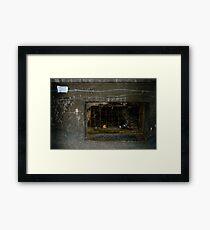 Plumber Framed Print