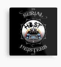 THE SERIAL HEISTERS CREW GREY Metal Print
