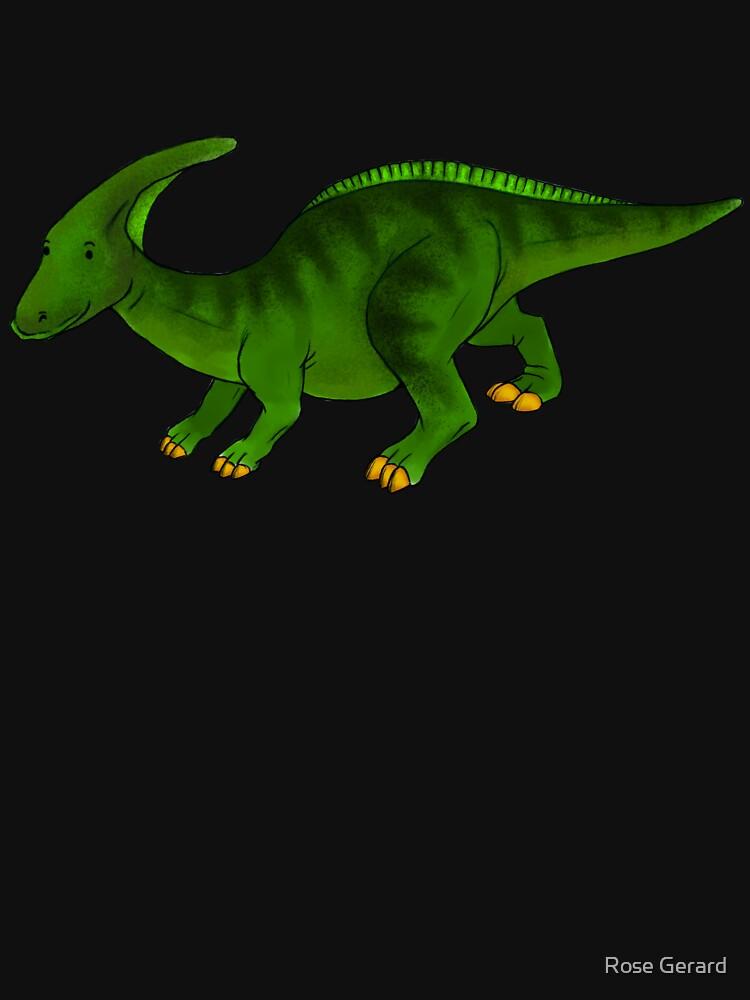 Parasaurolophus by arkadyrose