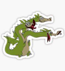 Cuphead Grim Matchstick dragon Sticker