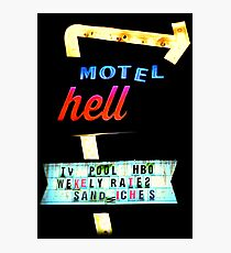 Motel HELL Photographic Print
