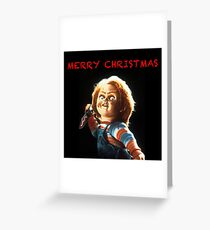 Chucky - Merry Christmas Greeting Card
