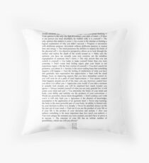 Impact Phrases Throw Pillow