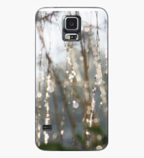 Sparkling ice crystals on weeping willow Case/Skin for Samsung Galaxy