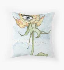 drEyed Rose Throw Pillow