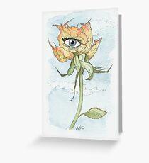 drEyed Rose Greeting Card