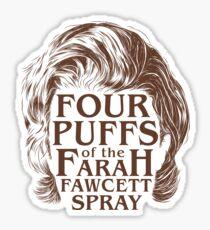The Strange Secret to Good Hair Sticker