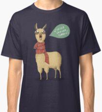 Holiday Llama Classic T-Shirt