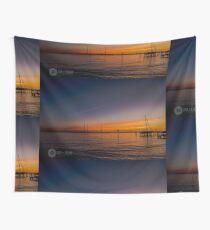 Sonnenaufgang auf der Chesapeake Bay Wandbehang